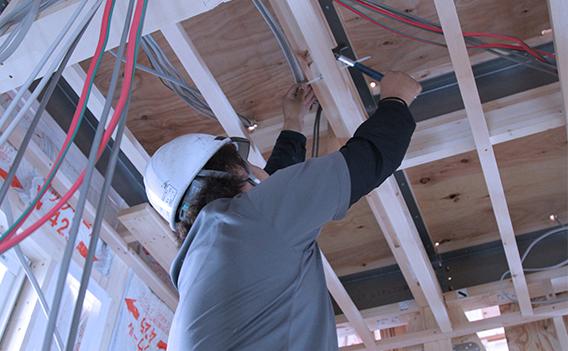 住宅電気設備工事